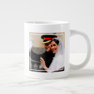 The Duke & Duchess of Sussex: All Smiles Giant Coffee Mug