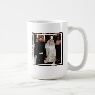 The Duke & Duchess of Sussex: At the Altar Coffee Mug