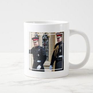 The Duke & Duchess of Sussex: Brothers Waving Giant Coffee Mug