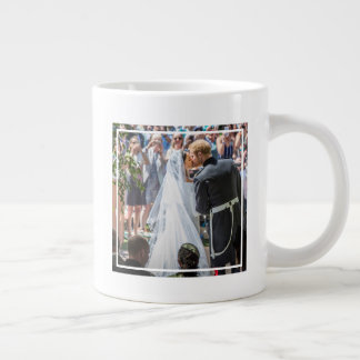 The Duke & Duchess of Sussex: First Kiss Giant Coffee Mug