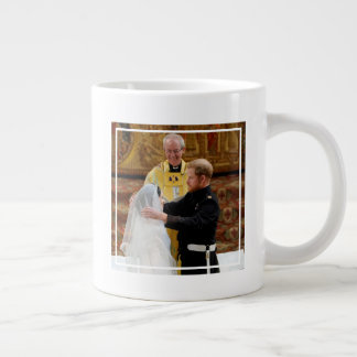 The Duke & Duchess of Sussex: Harry Lifts the Veil Giant Coffee Mug
