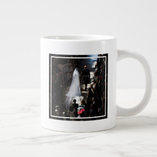 The Duke & Duchess of Sussex: Leaving the Chapel Giant Coffee Mug
