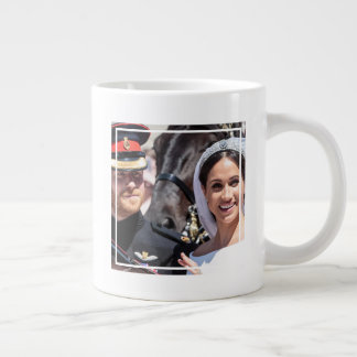 The Duke & Duchess of Sussex: Oh, Happy Day Giant Coffee Mug