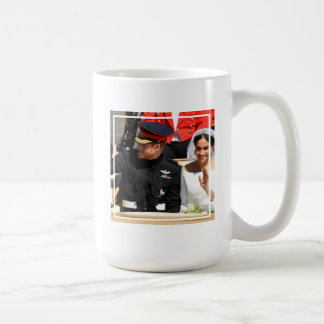 The Duke & Duchess of Sussex: Riding in Carriage Coffee Mug