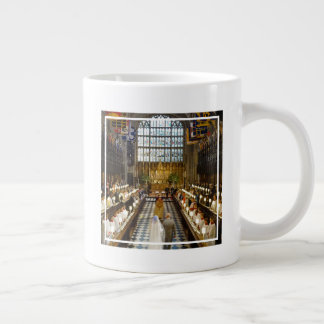 The Duke & Duchess of Sussex: St George's Chapel Giant Coffee Mug