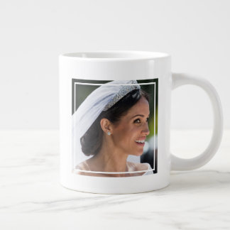 The Duke & Duchess of Sussex: The Bride Sparkles Giant Coffee Mug