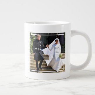 The Duke & Duchess of Sussex: The Happy  Newlyweds Giant Coffee Mug