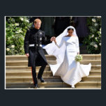 "The Duke &amp; Duchess of Sussex: The Happy  Newlyweds Postcard<br><div class=""desc"">The Wedding of Prince Harry to Meghan Markle: St George&#39;s Chapel,  Windsor Castle on May 19,  2018</div>"
