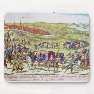 The Duke of Alba, recalled to Spain Mousepads