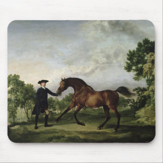 "The Duke of Ancaster's bay stallion ""Blank"" Mouse Pad"