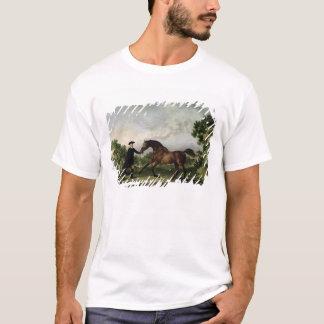 """The Duke of Ancaster's bay stallion """"Blank"""" T-Shirt"""