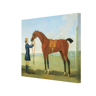 The Duke of Devonshire's Flying Childers, 1742 (oi Canvas Print
