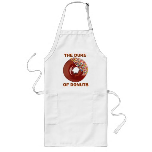The Duke of Donuts Apron