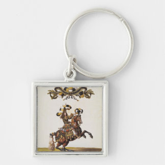The Duke of Enghien as the King of the Indians Keychain