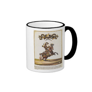 The Duke of Enghien as the King of the Indians Ringer Mug