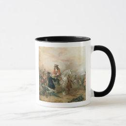 The Duke of Marlborough (1650-1722) signing the De Mug