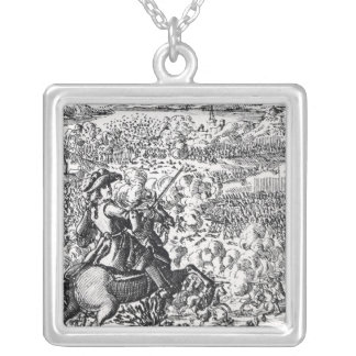 The Duke of Marlborough Defeats Silver Plated Necklace