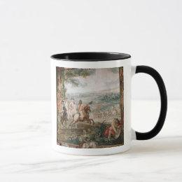 The Duke of Marlborough surveys his troops Mug
