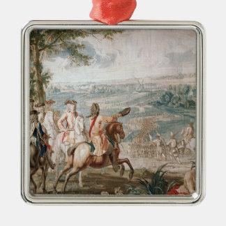 The Duke of Marlborough surveys his troops Ornaments