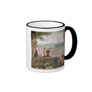 The Duke of Marlborough surveys his troops Ringer Coffee Mug