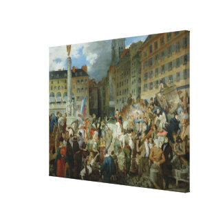 The Duke of Orleans Canvas Print