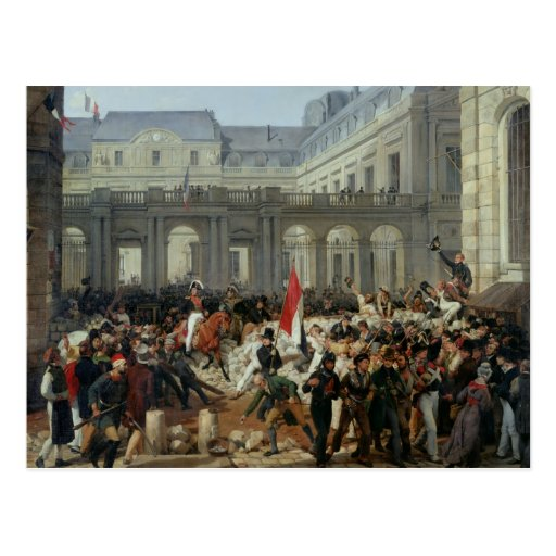 The Duke of Orleans Leaves the Palais-Royal Post Cards