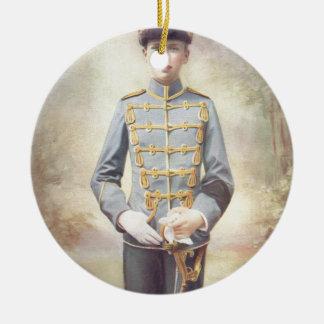 The Duke of Saxe-Coburg and Gotha Ceramic Ornament