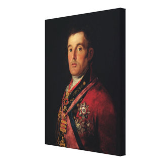 The Duke of Wellington  1812-14 Canvas Print