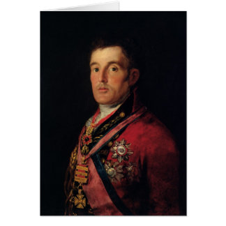 The Duke of Wellington  1812-14 Card