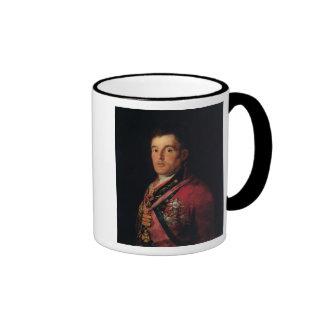 The Duke of Wellington  1812-14 Ringer Coffee Mug