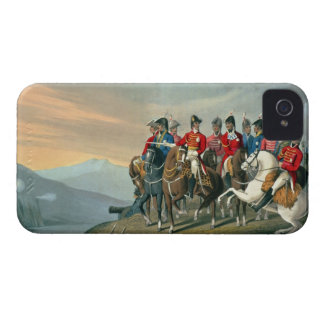 The Duke of Wellington and his Staff Crossing the iPhone 4 Case