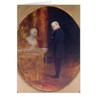 The Duke of Wellington  Studying Card