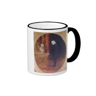 The Duke of Wellington  Studying Ringer Coffee Mug