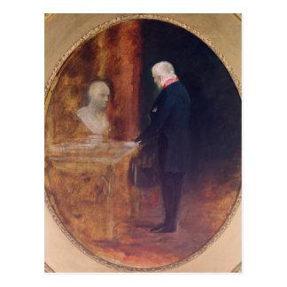 The Duke of Wellington  Studying Postcard