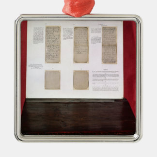 The Duke of Wellington's battle orders Metal Ornament