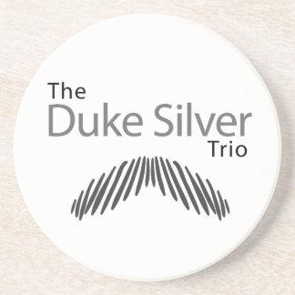 The Duke Silver Trio Coaster