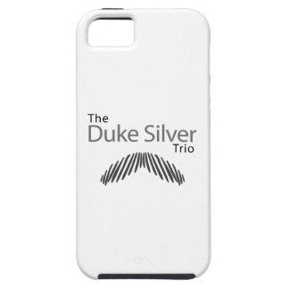 The Duke Silver Trio iPhone SE/5/5s Case