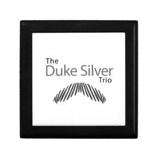 The Duke Silver Trio Keepsake Box