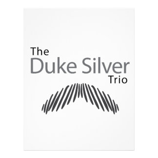 The Duke Silver Trio Letterhead