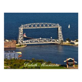 The Duluth Minnesota Lift Bridge Postcard