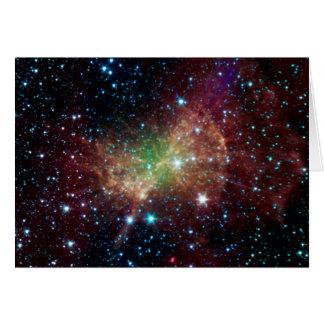 The Dumbbell Nebula Card