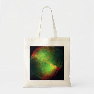 The Dumbbell nebula NASA M27 Tote Bag