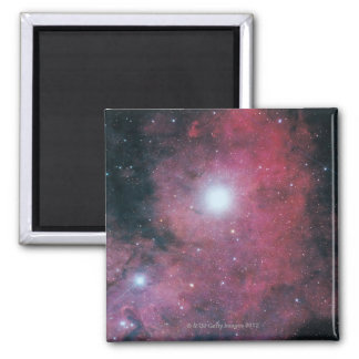 The Dumbell Nebula 2 Inch Square Magnet