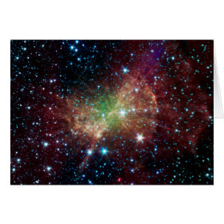The Dumbell Nebula Get Well Card