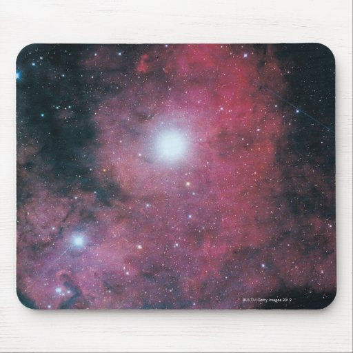 The Dumbell Nebula Mouse Pads