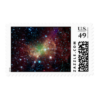 the Dumbell Nebula Postage Stamp