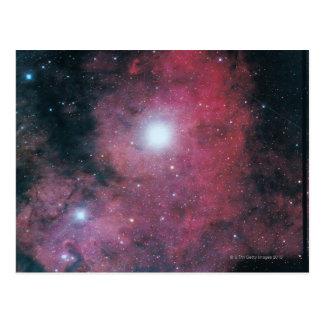 The Dumbell Nebula Postcard