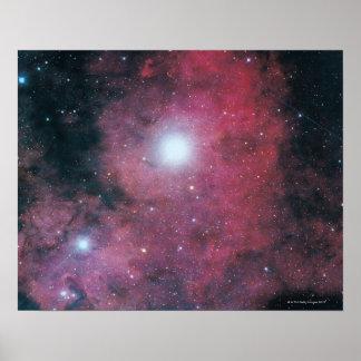 The Dumbell Nebula Poster