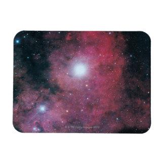 The Dumbell Nebula Rectangular Photo Magnet