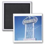 The Dunes Hotel Las Vegas 2 Inch Square Magnet
